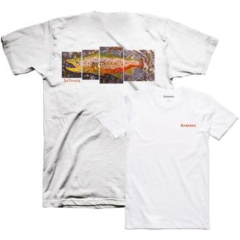 Футболка SIMMS DeYoung Brown Trout T-Shirt цвет White