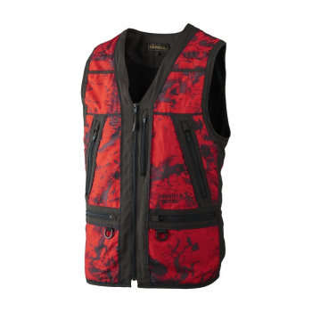 Жилет HARKILA Lynx Safety Waistcoat цвет AXIS MSP Red Blaze / Shadow brown