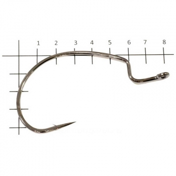 Крючок офсетный DECOY Hook Worm 18 № 6/0 (4 шт.)