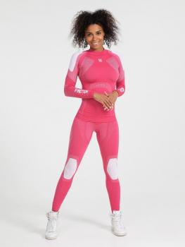 Комплект термобелья V-MOTION Alpinesports женский цвет розовый