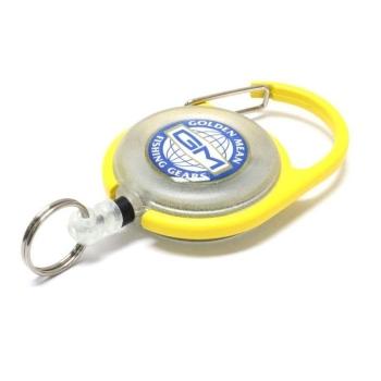 Ретривер GOLDEN MEAN Pin On Reel цв. желтый в интернет магазине Rybaki.ru