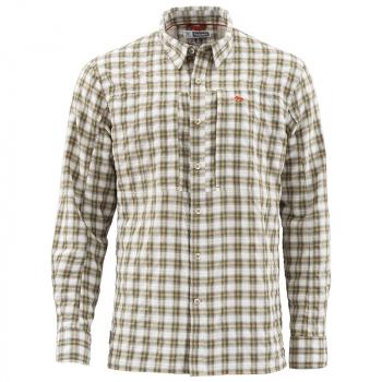 Рубашка SIMMS Bugstopper LS Shirt цвет Plaid Cork Plaid