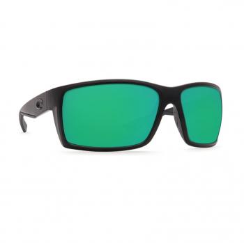 Очки поляризационные COSTA DEL MAR Reefton 580P р. L цв. Blackout цв. ст. Green Mirror