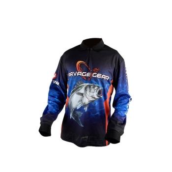 Джерси SAVAGE GEAR Tournament Jersey цвет Морской Окунь / Тунец Синий