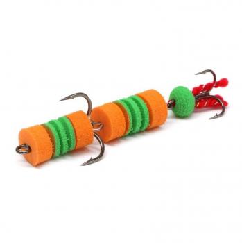 Мандула LEX Premium Creative 70 D13 оранжевый / зеленый / оранжевый в интернет магазине Rybaki.ru