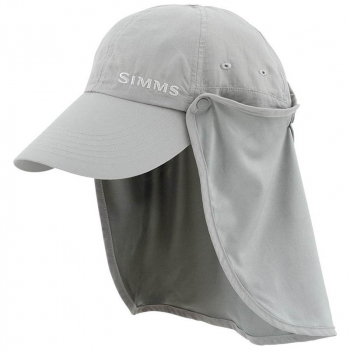 Бейсболка SIMMS Bugstopper Sunshield Hat цв. Smoke