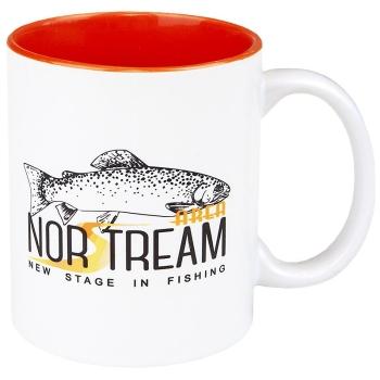 Кружка NORSTREAM Area цв. белый/оранжевый