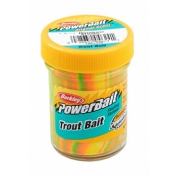 Паста форелевая BERKLEY PowerBait Biodegradable TroutBait цв. радуга в интернет магазине Rybaki.ru
