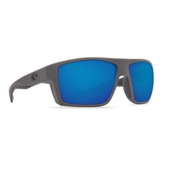Очки поляризационные COSTA DEL MAR Bloke 580P р. XL цв. Matte Gray + Matte Black цв. ст. Blue Mirror