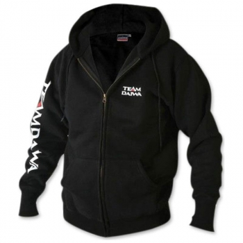 Толстовка DAIWA Team Zipper Hooded Top цвет Black