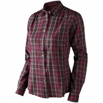 Рубашка SEELAND Pilton Lady Shirt цвет Raisin check